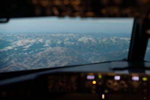 Alpenblick aus dem CitySim Flugsimulator