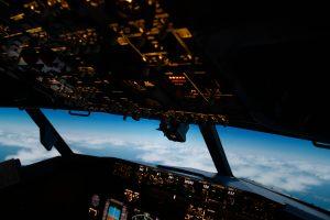 Blick aus dem CitySim Flugsimulator